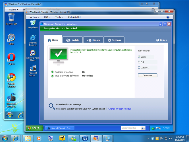 microsoft security essentials review windows 7