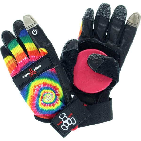 triple 8 downhill slide gloves review