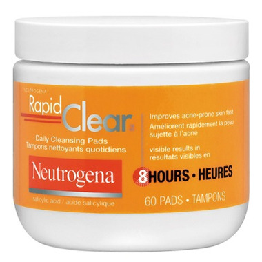 neutrogena rapid clear pads review