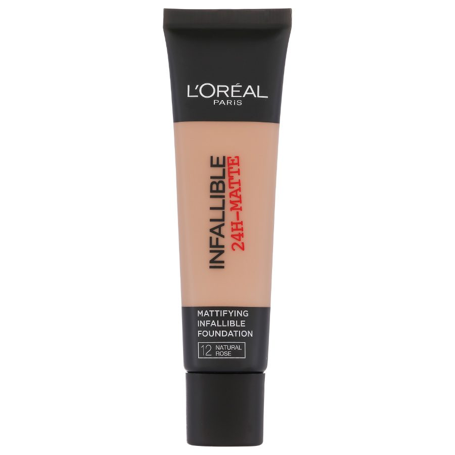 l oreal infallible natural rose review