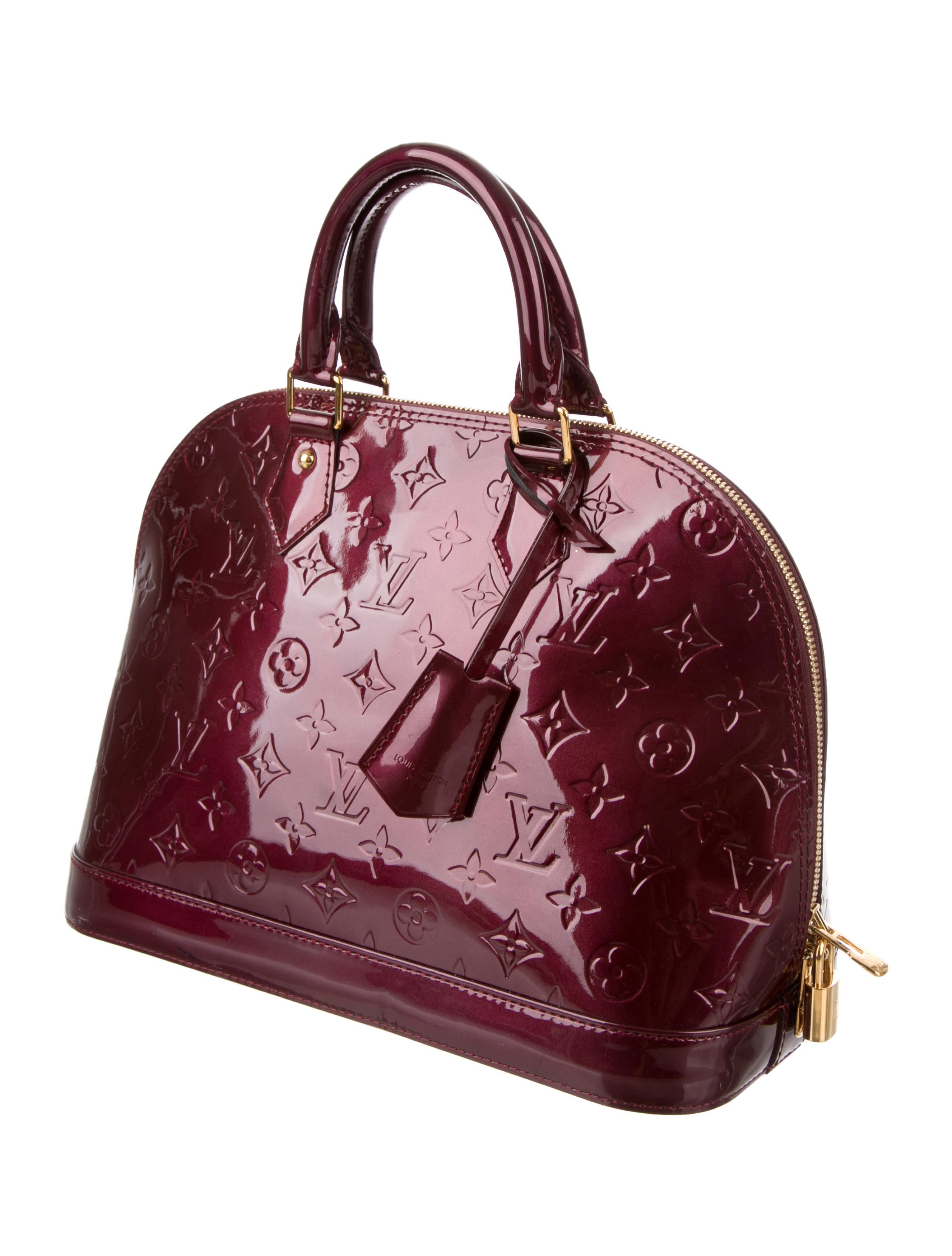 louis vuitton alma vernis review