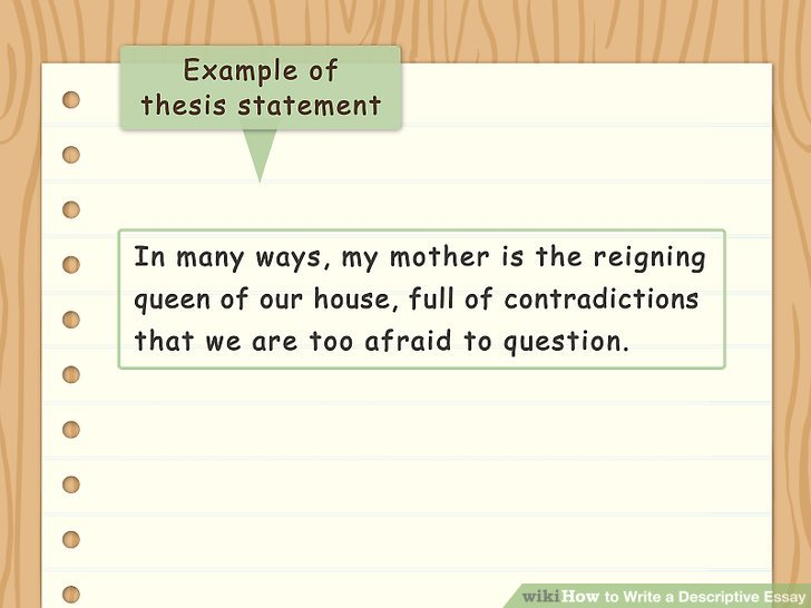 how to write a thesis statement for a book review
