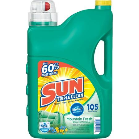 sun liquid laundry detergent reviews