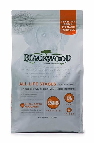 special dog food lamb and rice review