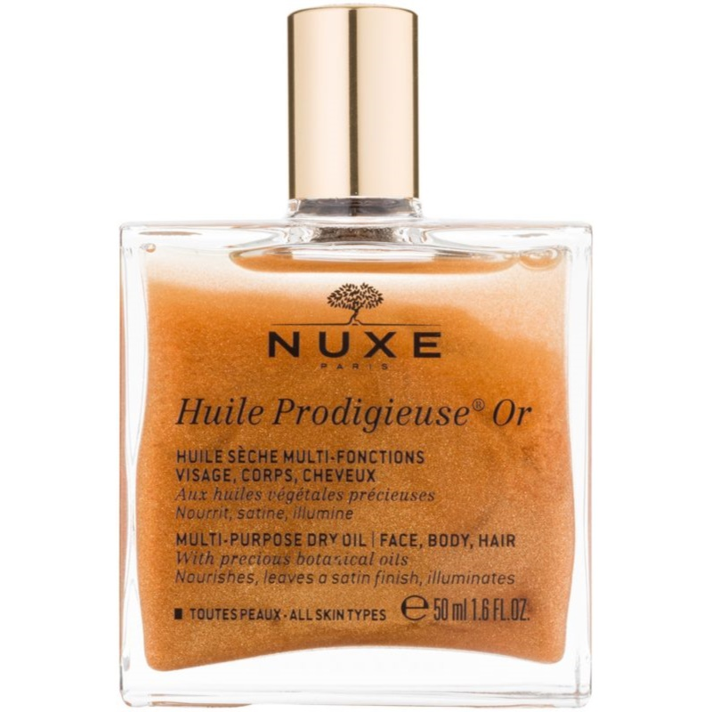 nuxe dry oil shimmer review
