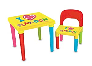 play doh activity table reviews
