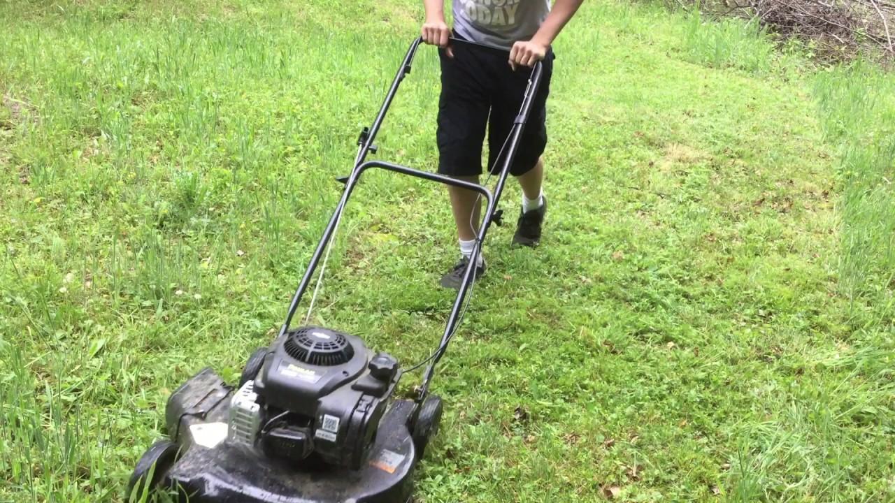 poulan push lawn mower reviews
