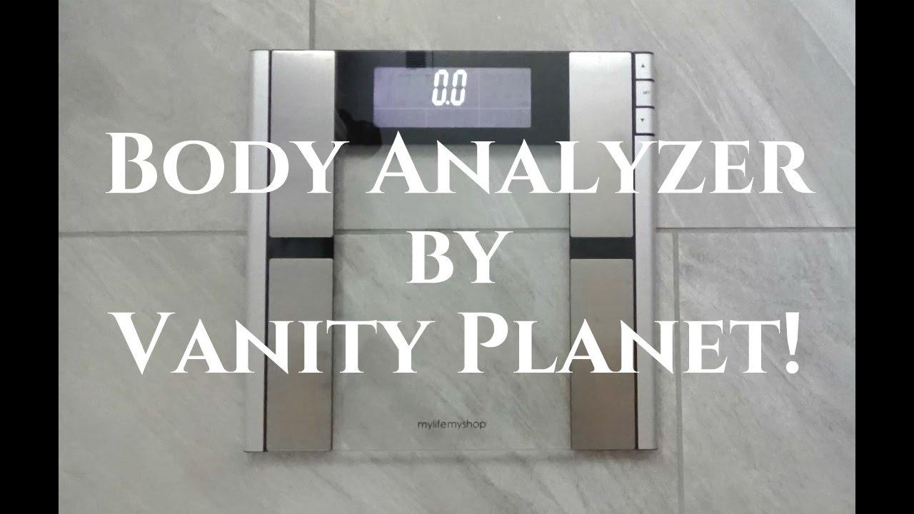 vanity planet body analyzer scale review