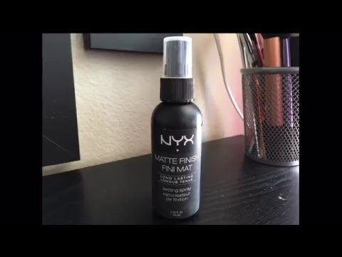 nyx setting spray matte review indonesia