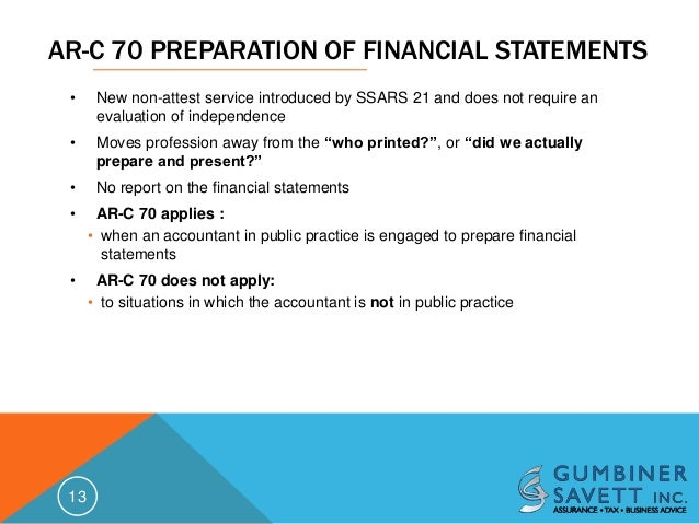 sample review engagement financial statements