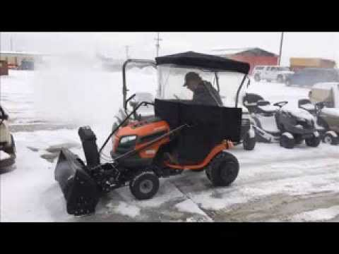 husqvarna lawn tractor snow blower reviews