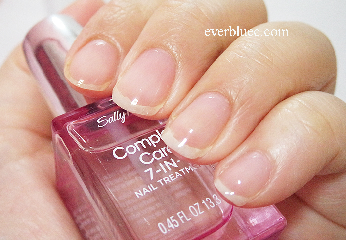 sally hansen 4 in 1 nail treatment review