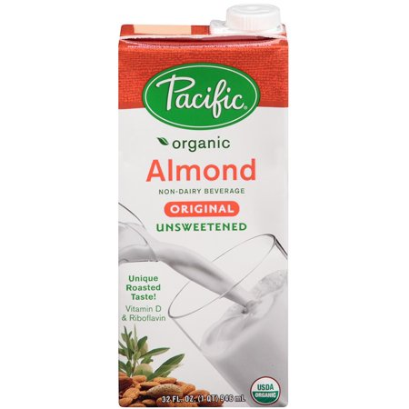 pacific organic almond milk review