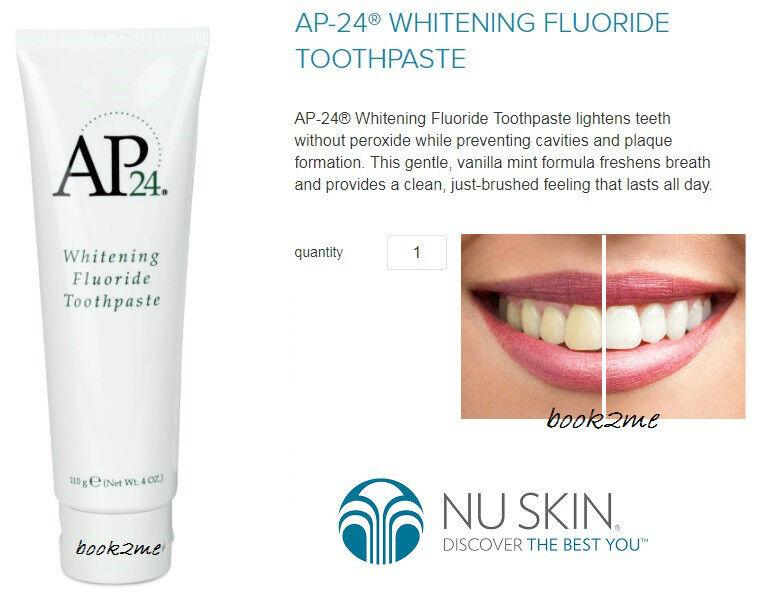nu skin ap toothpaste reviews
