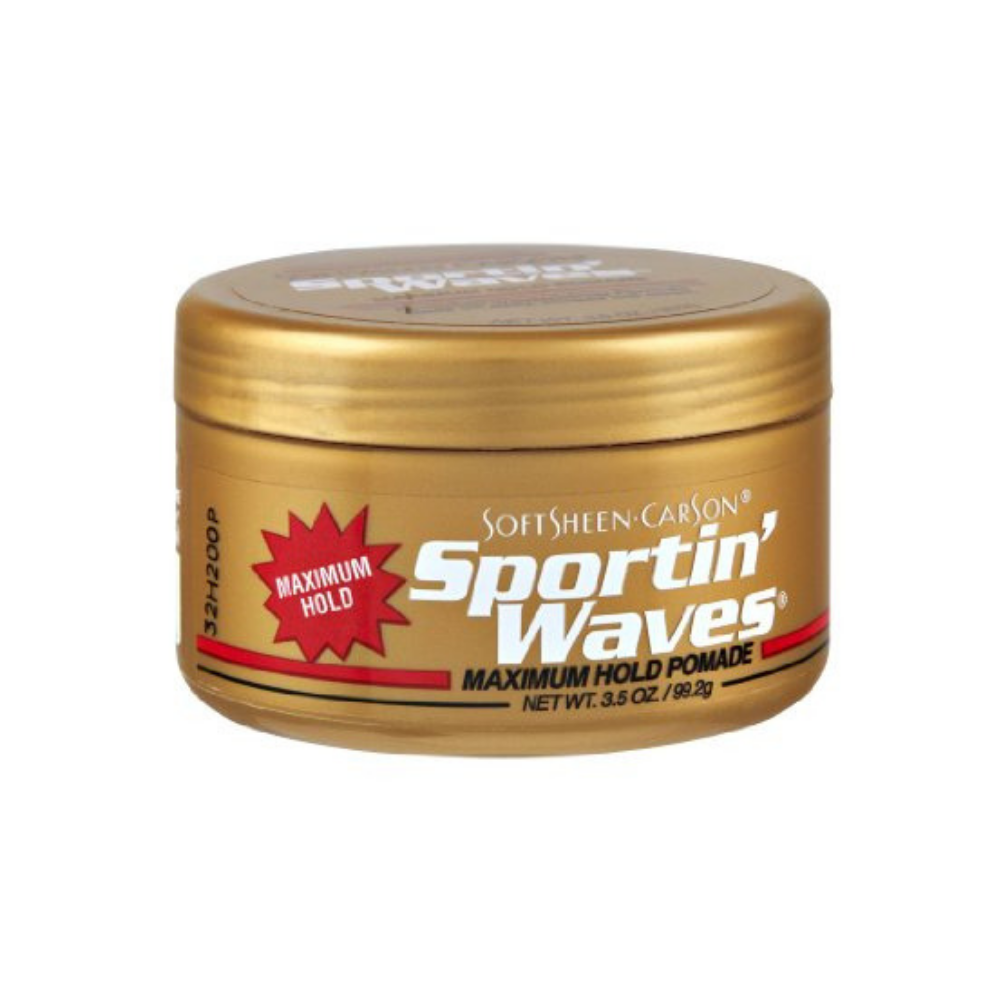 sportin waves maximum hold pomade review