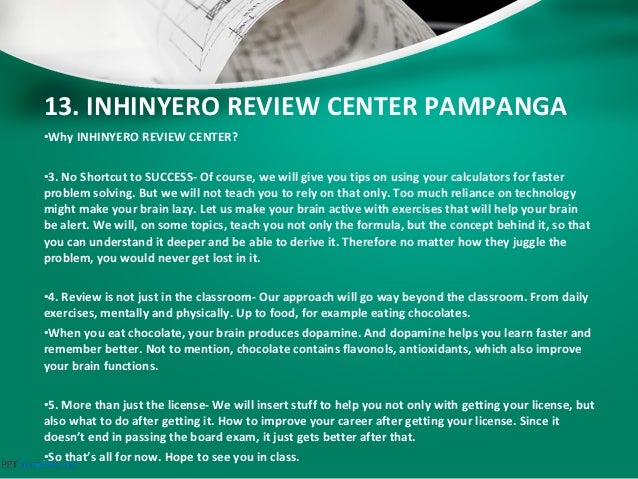 list of maritime review center in the philippines