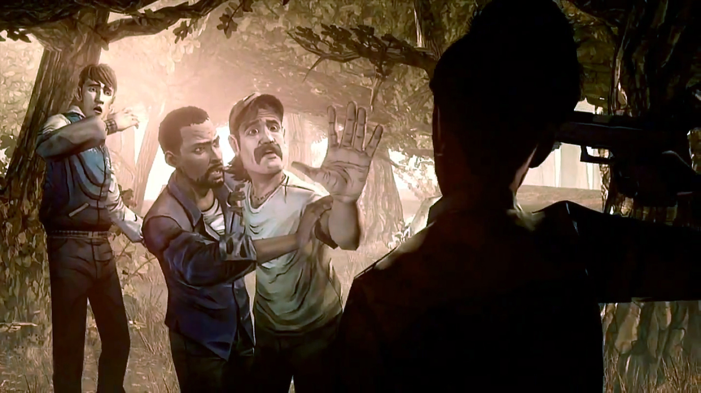 the walking dead game ps4 review
