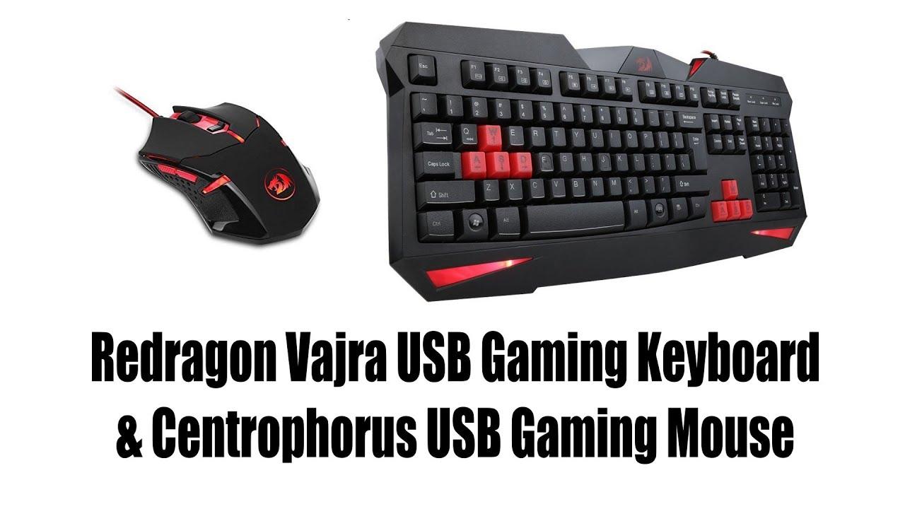 redragon s101 vajra usb gaming keyboard review
