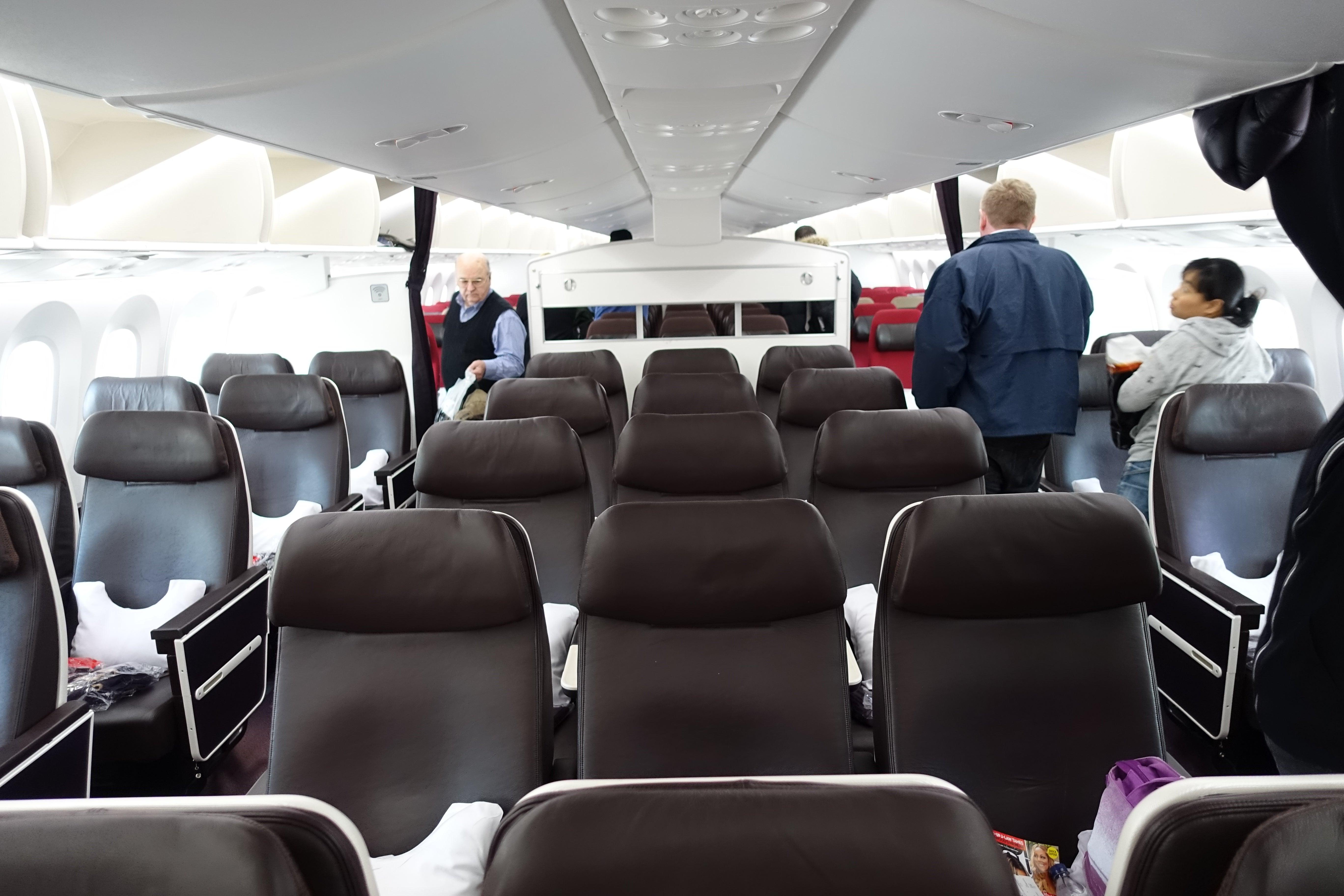 virgin atlantic 787 economy review