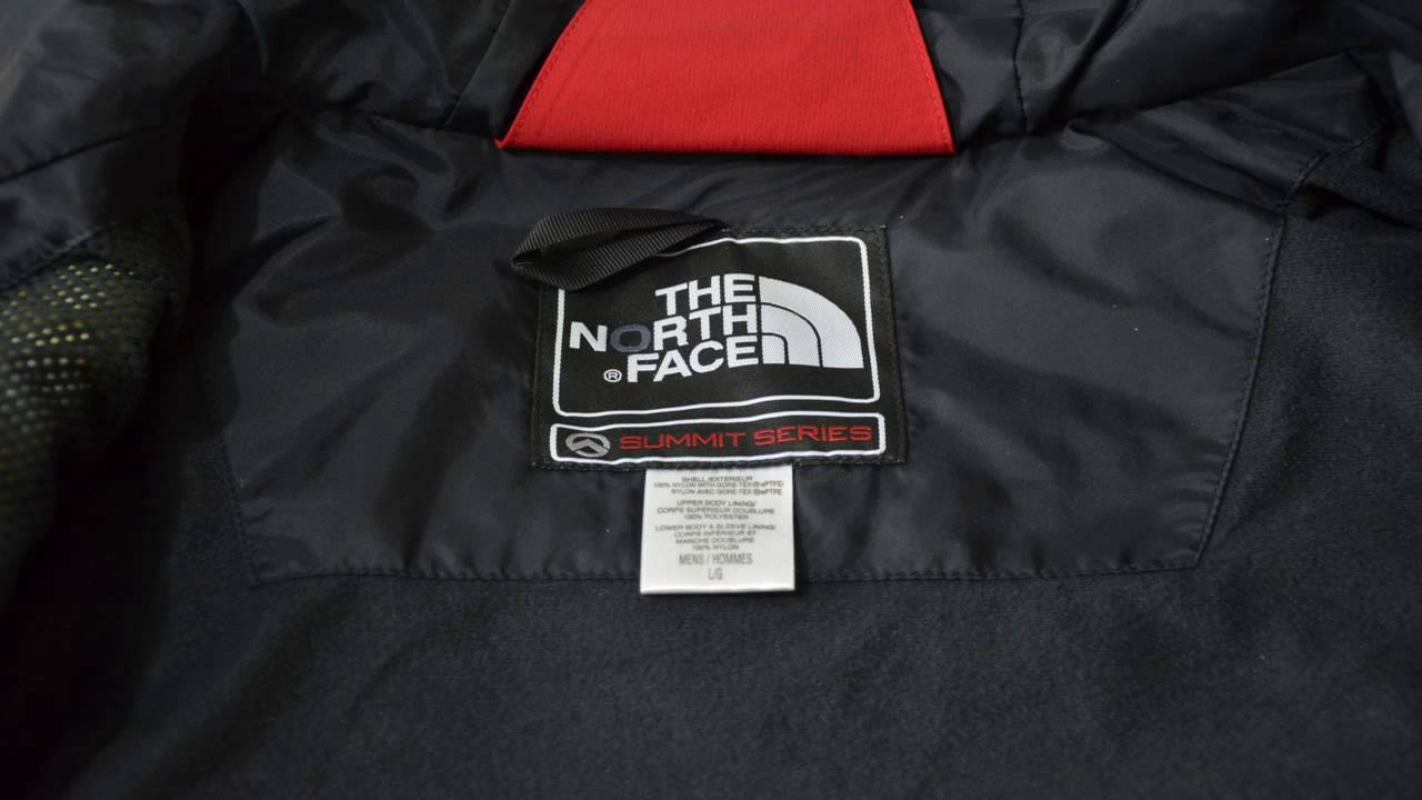north face summit series gore tex xcr review