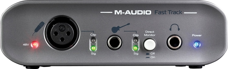 m audio fast track usb review