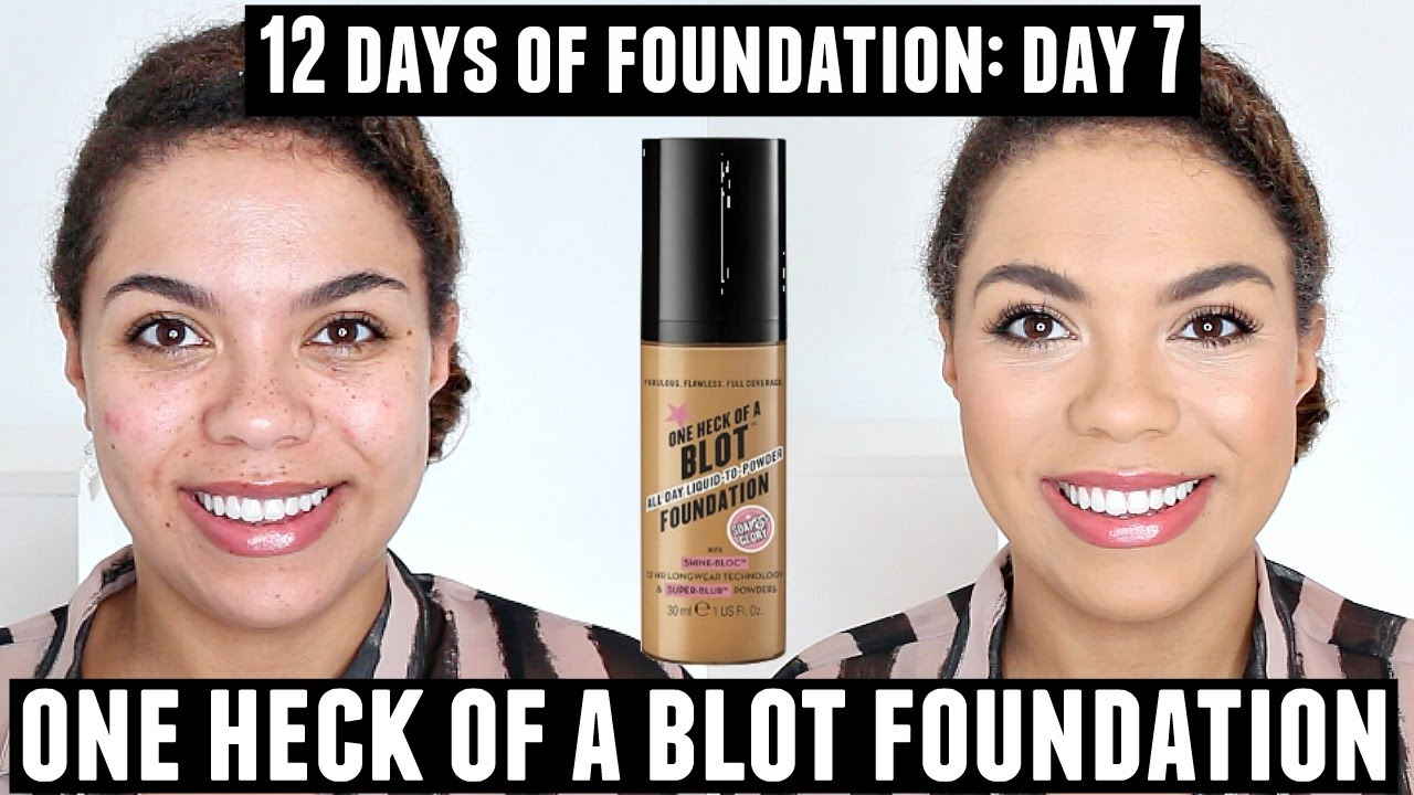 soap and glory foundation review