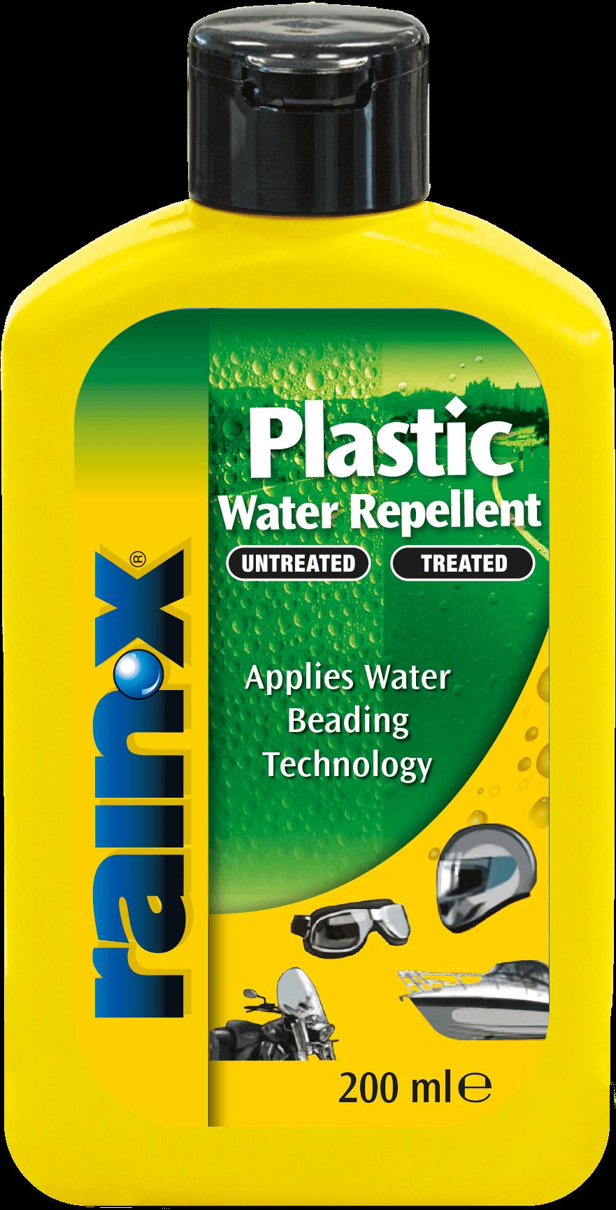 rain x plastic water repellent review