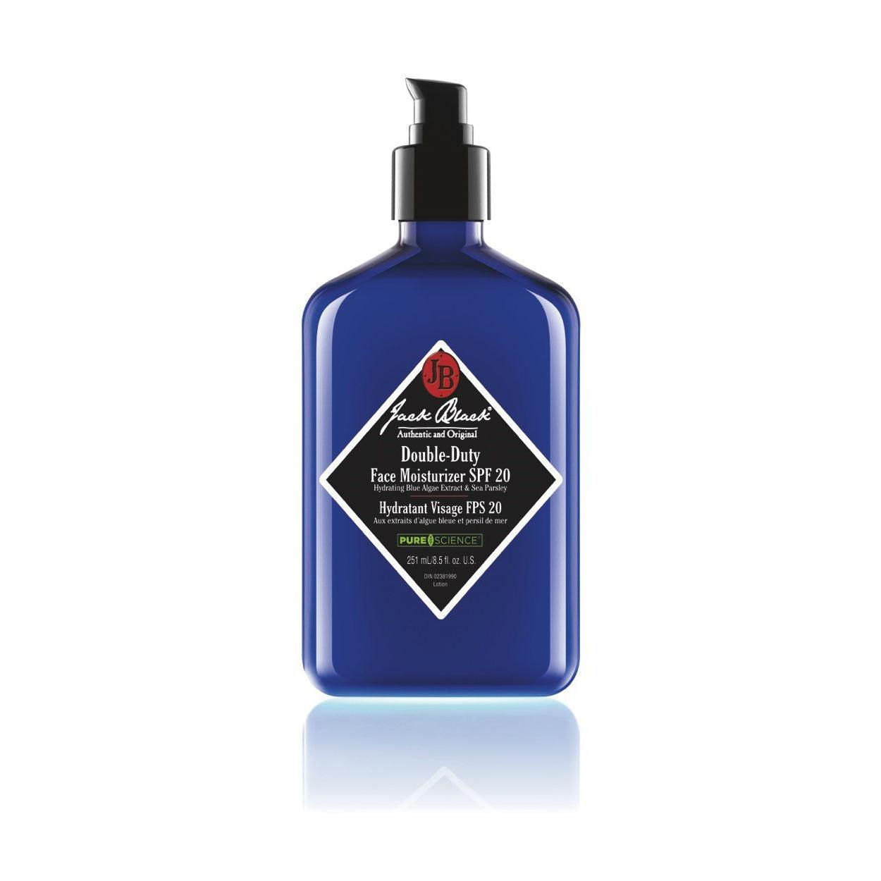 jack black moisturizer and cleanser set review