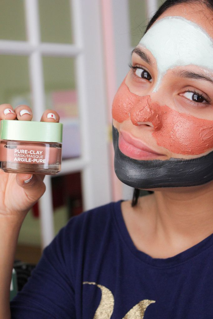 l oreal pure clay mask charcoal review