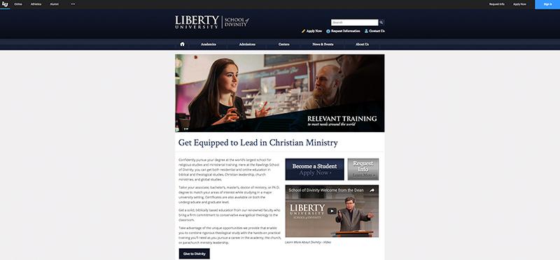 liberty baptist theological seminary reviews