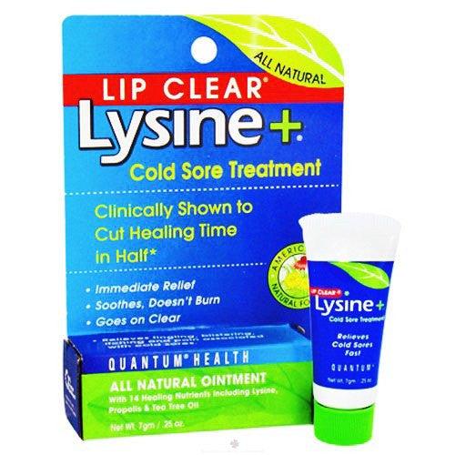 lip clear lysine cold sore treatment reviews