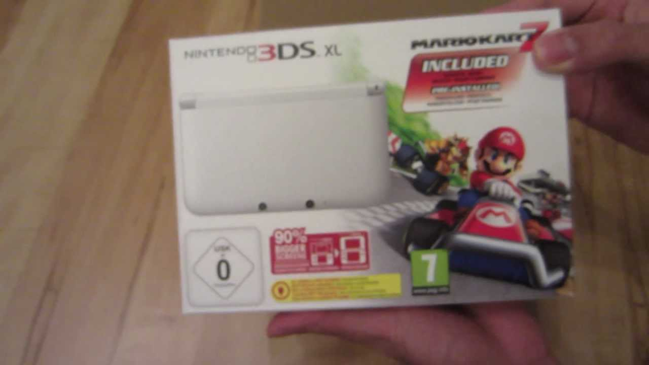 nintendo 3ds xl unboxing and review