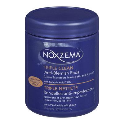 noxzema anti blemish pads review