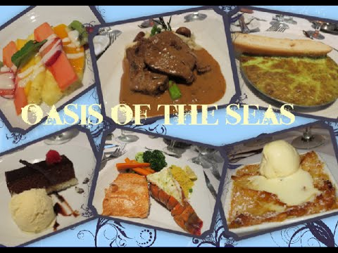 oasis of the seas food reviews