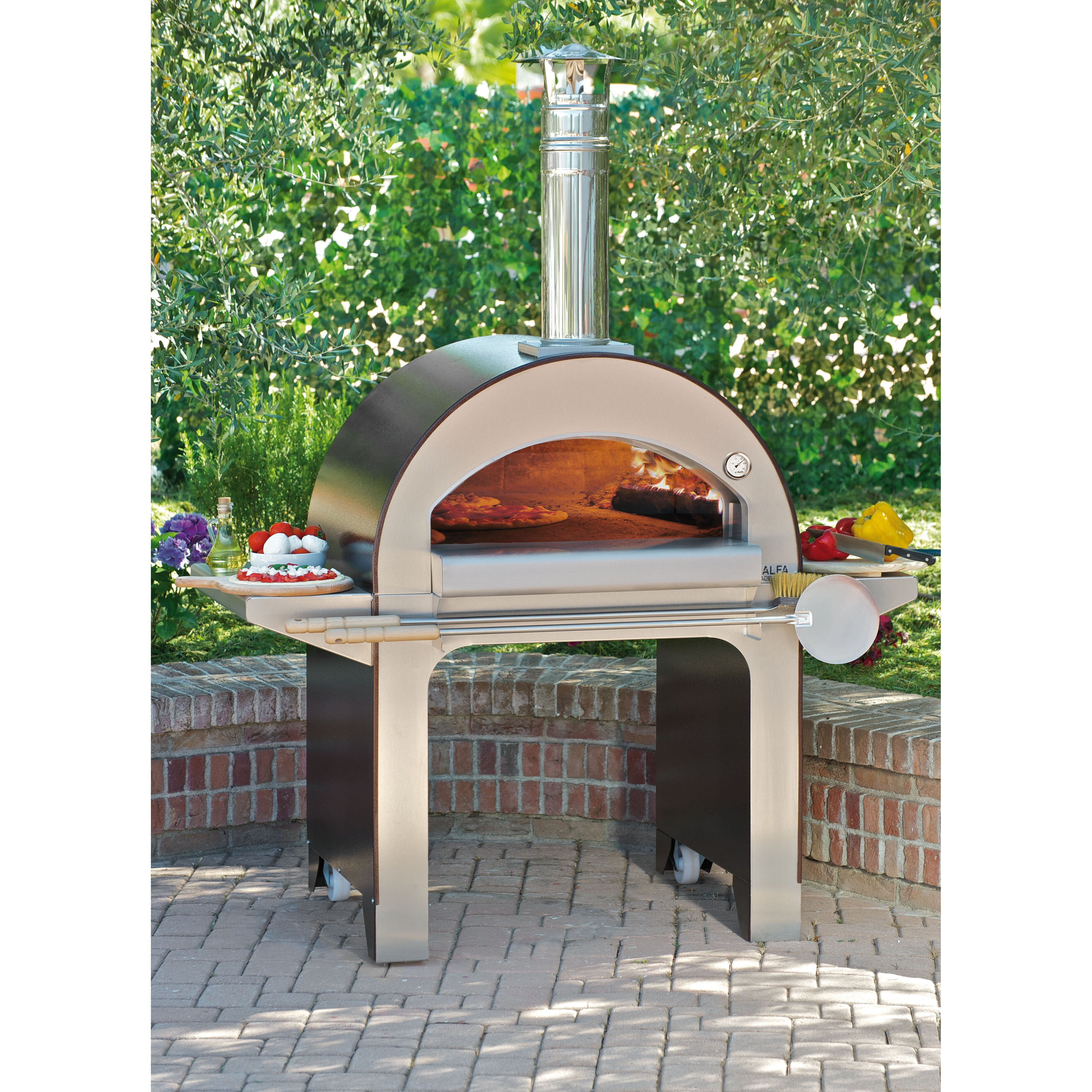 outdoor wood burning pizza oven reviews