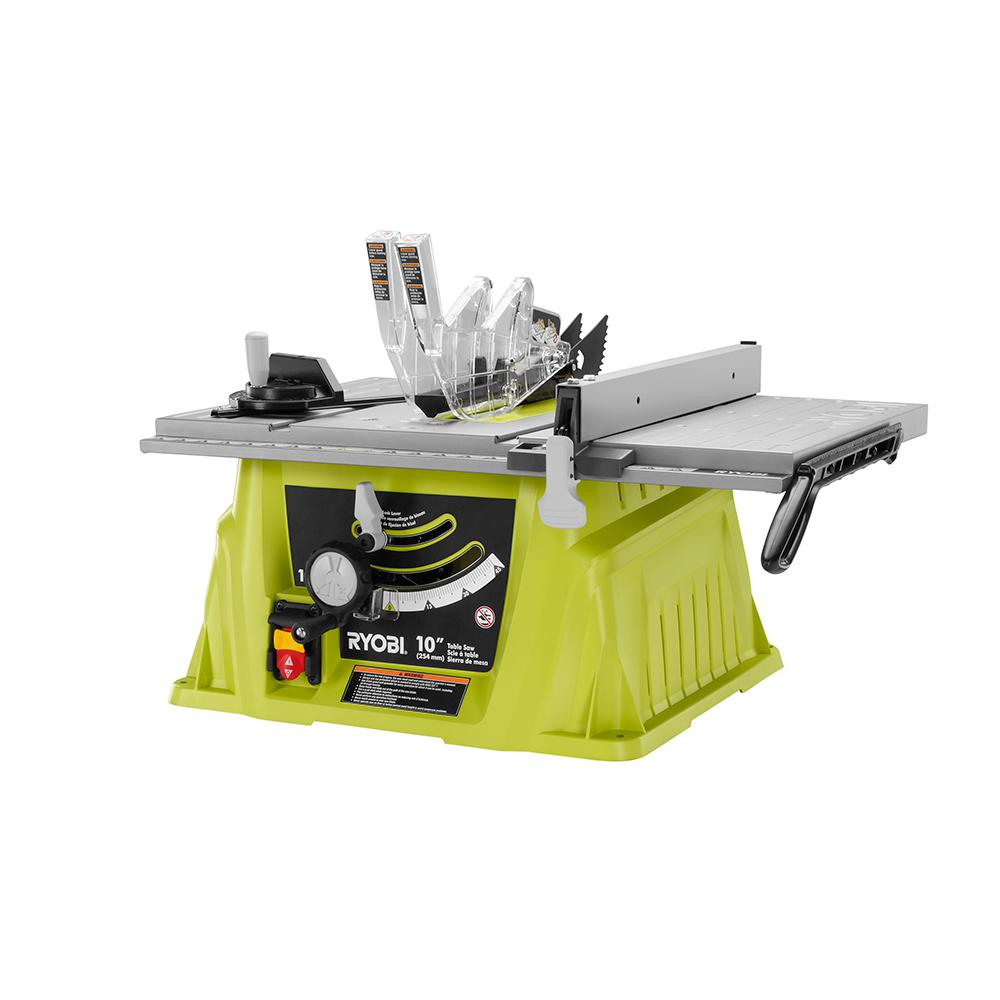 ridgid 15 amp table saw review