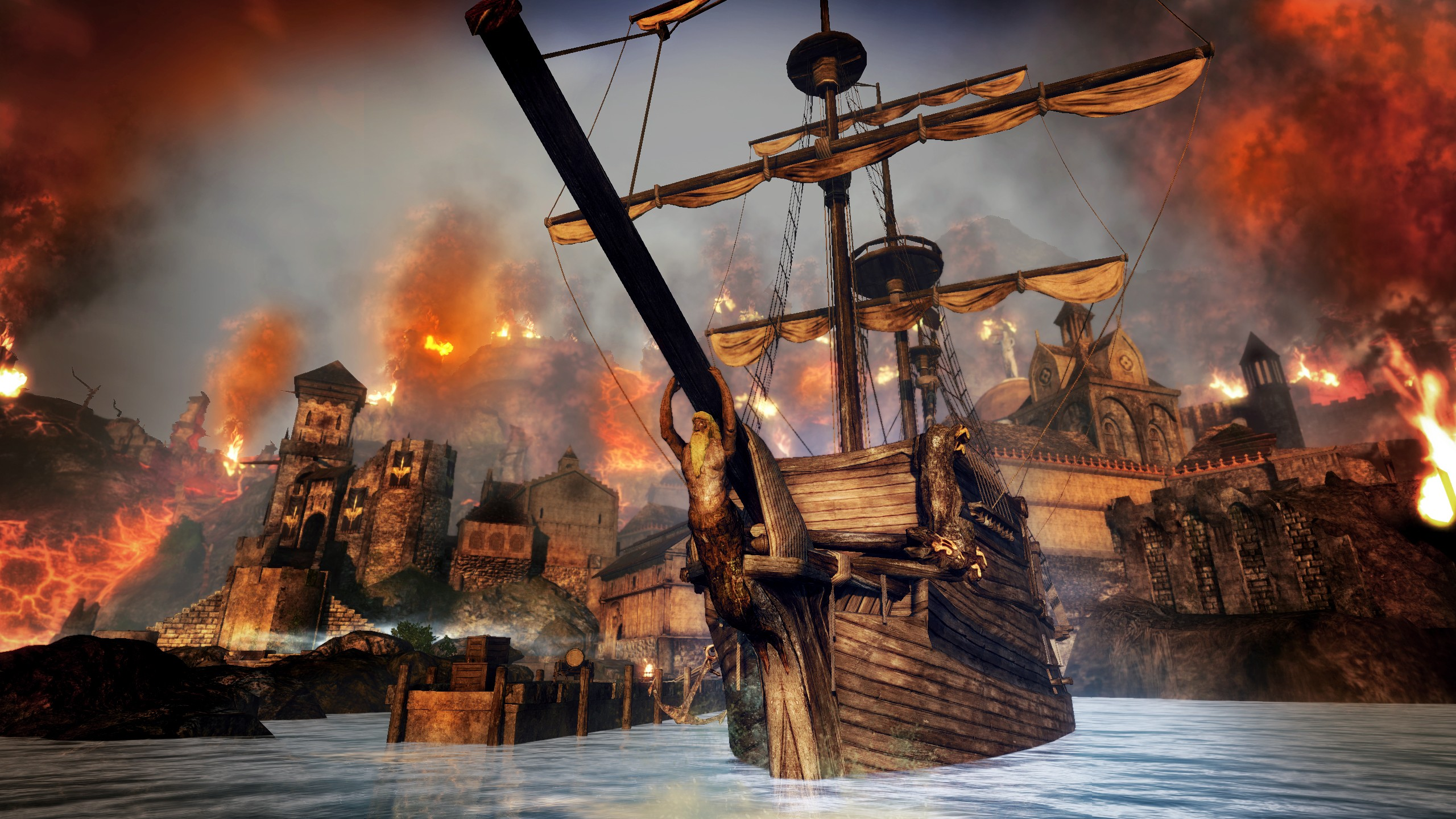 risen 2 dark waters review
