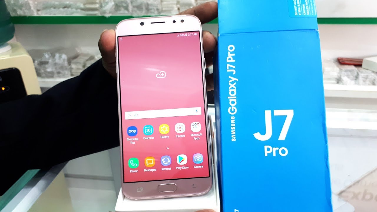 samsung j7 pro pink review