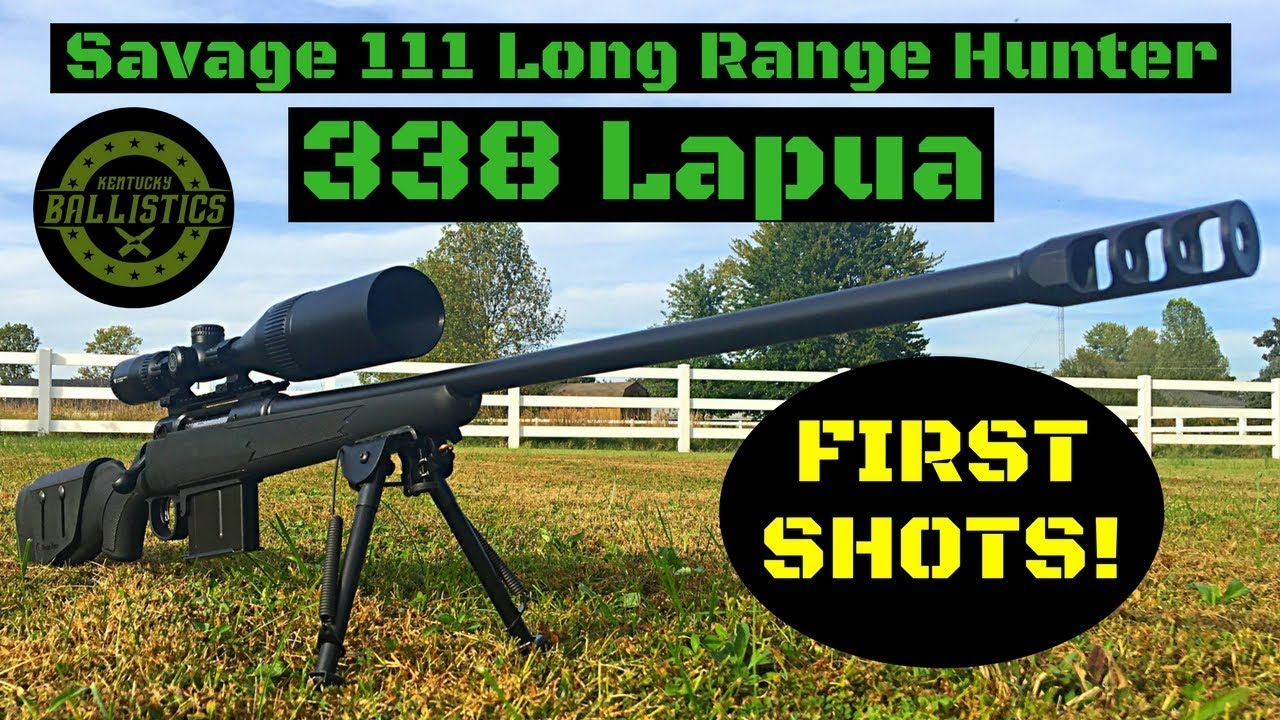 savage 111 long range hunter 338 lapua review
