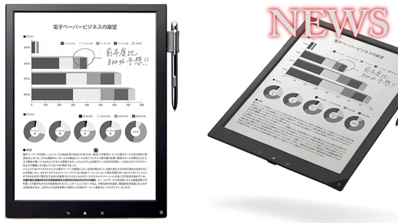 sony 13 dpt s1 digital paper review