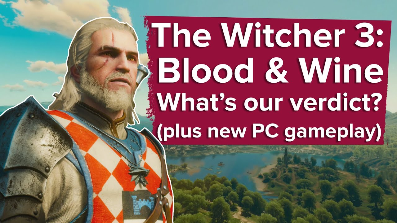 witcher blood and wine review
